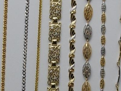 Bransoletki ze złota
