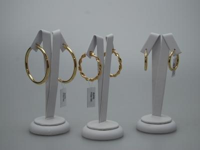 kolczyki koła złoto pr.585